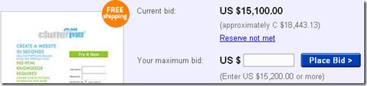 image thumb4 Un site web à vendre sur eBay