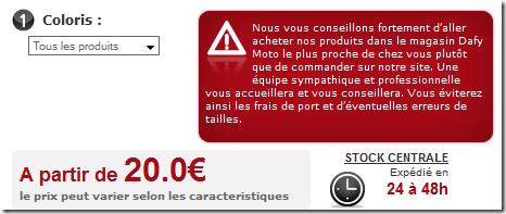 image thumb1 Daffy Moto vous invite à ne pas acheter sur son site eCommerce