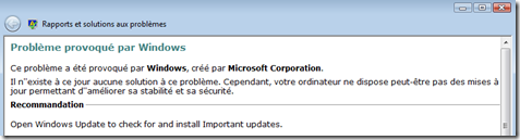 image thumb2 Problème provoqué par Windows