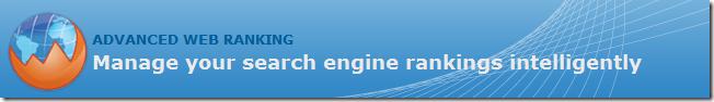 image thumb Advanced Web Ranking   Logiciel danalyse de référencement